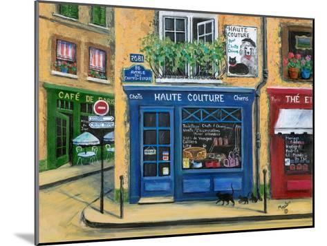 The French High Fashion Pet Shop-Marilyn Dunlap-Mounted Art Print