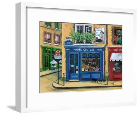 The French High Fashion Pet Shop-Marilyn Dunlap-Framed Art Print