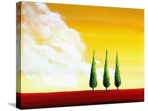 Unspoken-Cindy Thornton-Stretched Canvas Print