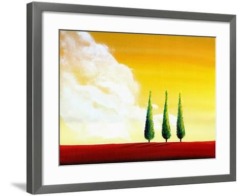 Unspoken-Cindy Thornton-Framed Art Print