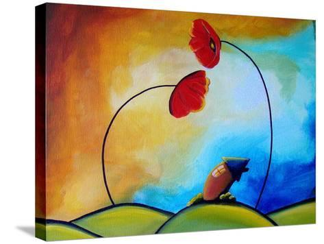 Hello-Cindy Thornton-Stretched Canvas Print