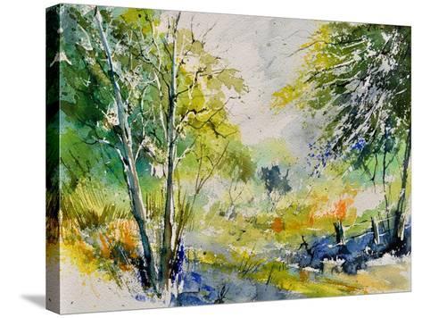 Watercolor 414061-Pol Ledent-Stretched Canvas Print