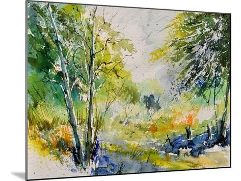 Watercolor 414061-Pol Ledent-Mounted Art Print