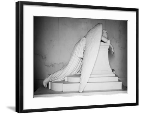 Weeping Angel-John Gusky-Framed Art Print