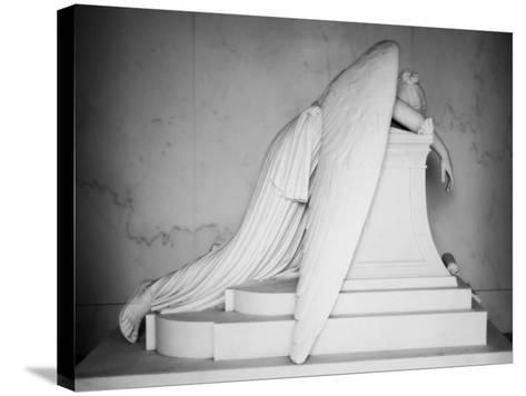 Weeping Angel-John Gusky-Stretched Canvas Print
