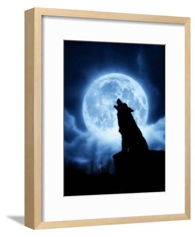 Cries of the Night-Julie Fain-Framed Art Print
