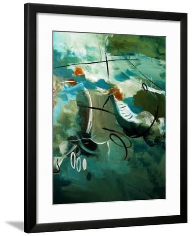 Over Land And Sea II-Ruth Palmer-Framed Art Print