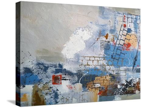 Breaking Down The Walls-Ruth Palmer-Stretched Canvas Print