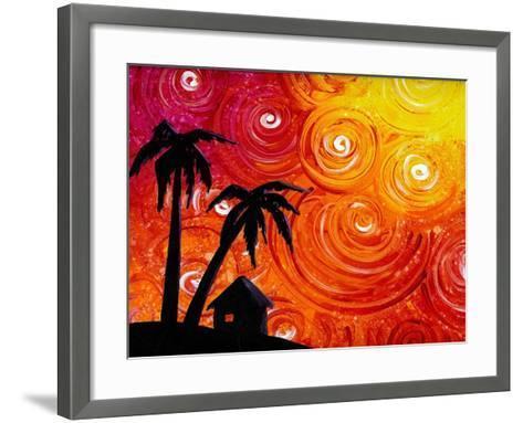 Seaside Lights-Cindy Thornton-Framed Art Print