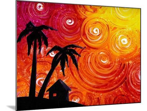 Seaside Lights-Cindy Thornton-Mounted Art Print