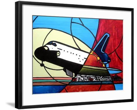 Space Shuttle Landing-Cindy Thornton-Framed Art Print
