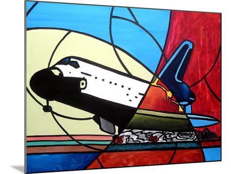 Space Shuttle Landing-Cindy Thornton-Mounted Art Print