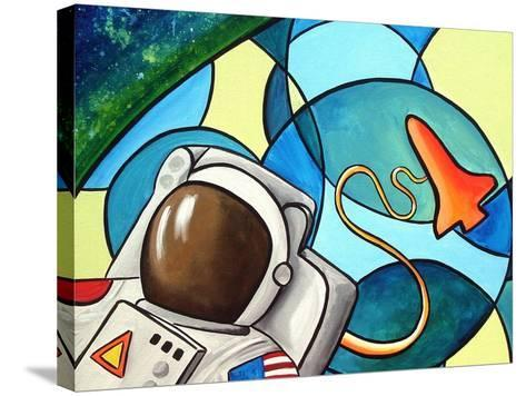 Space Walk-Cindy Thornton-Stretched Canvas Print
