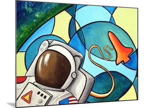 Space Walk-Cindy Thornton-Mounted Art Print