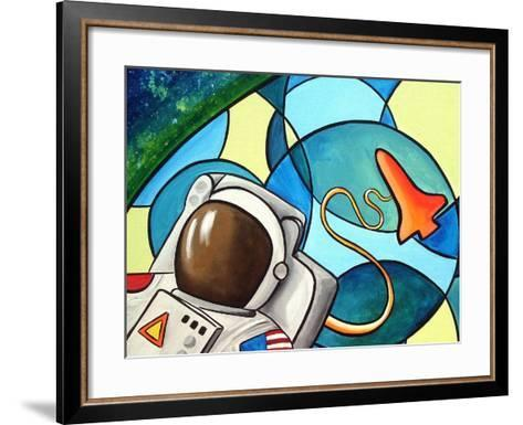 Space Walk-Cindy Thornton-Framed Art Print
