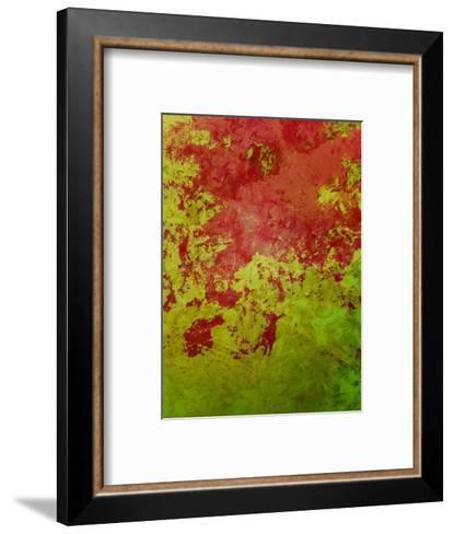 Abstract 304-Herb Dickinson-Framed Art Print