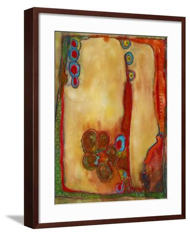 Abstract Original Art Contemporary Print-Blenda Tyvoll-Framed Art Print