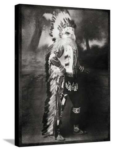 Chief Shikoba Featherbeard-Grand Ole Bestiary -Stretched Canvas Print