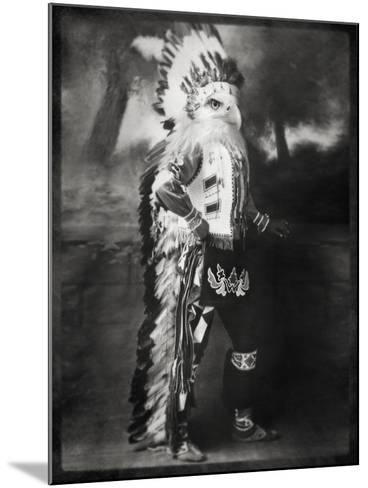 Chief Shikoba Featherbeard-Grand Ole Bestiary -Mounted Art Print
