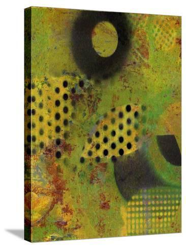 Abstract Movement I-Ricki Mountain-Stretched Canvas Print