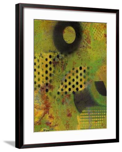 Abstract Movement I-Ricki Mountain-Framed Art Print