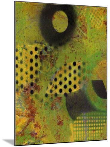 Abstract Movement I-Ricki Mountain-Mounted Art Print