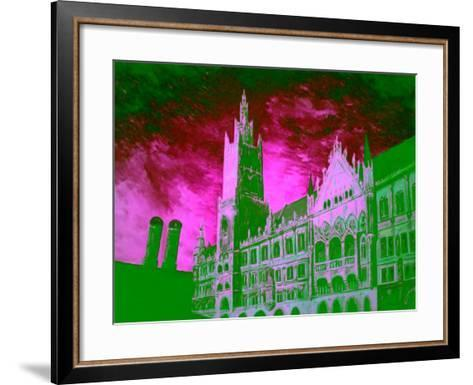 New Town Hall Munich-Markus Bleichner-Framed Art Print