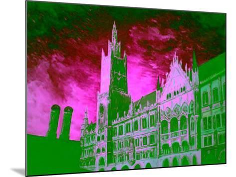 New Town Hall Munich-Markus Bleichner-Mounted Art Print