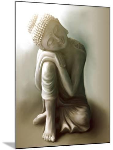 Resting Buddha-Christine Ganz-Mounted Art Print