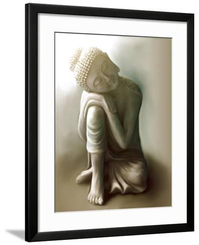 Resting Buddha-Christine Ganz-Framed Art Print