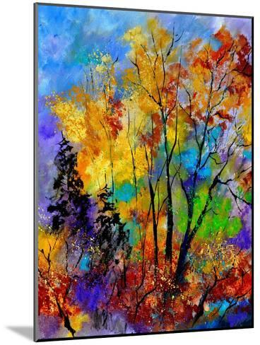In The Wood 563180-Pol Ledent-Mounted Art Print