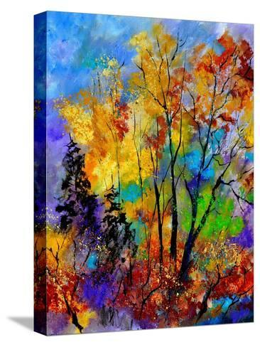 In The Wood 563180-Pol Ledent-Stretched Canvas Print