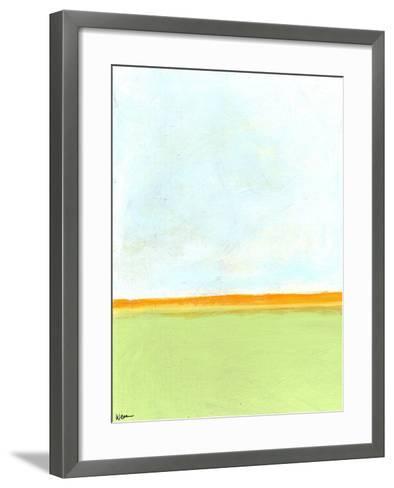 Big Sky 2-Jan Weiss-Framed Art Print