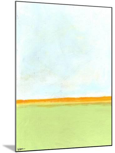 Big Sky 2-Jan Weiss-Mounted Art Print
