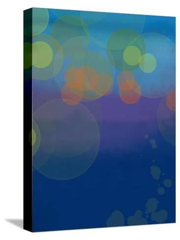 Night Lights 2-Jan Weiss-Stretched Canvas Print