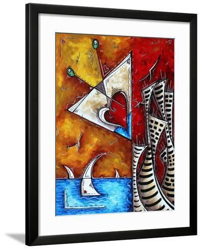 Heart Of A Martii-Megan Aroon Duncanson-Framed Art Print