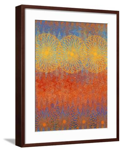 Spring Awakens IV-Ricki Mountain-Framed Art Print