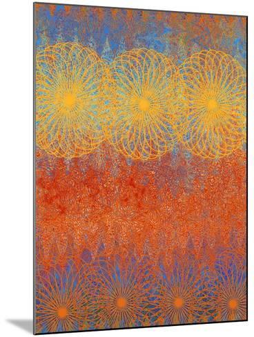 Spring Awakens IV-Ricki Mountain-Mounted Art Print