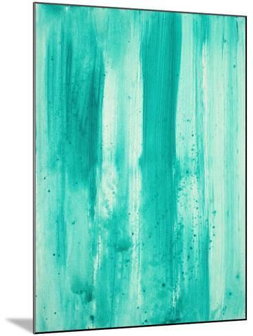 Aqua Passion-Megan Aroon Duncanson-Mounted Art Print