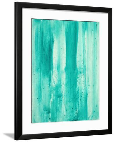 Aqua Passion-Megan Aroon Duncanson-Framed Art Print