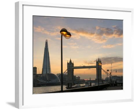 London-Charles Bowman-Framed Art Print