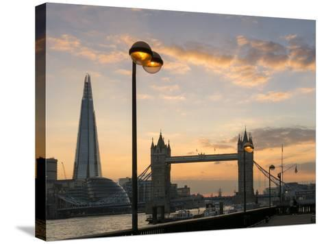London-Charles Bowman-Stretched Canvas Print