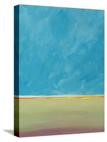 Earth Meets Sky 2-Jan Weiss-Stretched Canvas Print