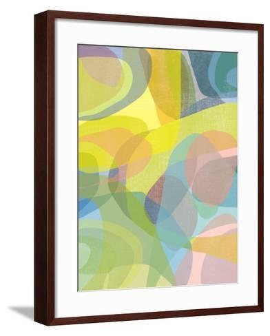 Layered Earth Three-Jan Weiss-Framed Art Print