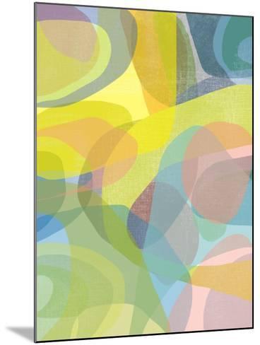 Layered Earth Three-Jan Weiss-Mounted Art Print