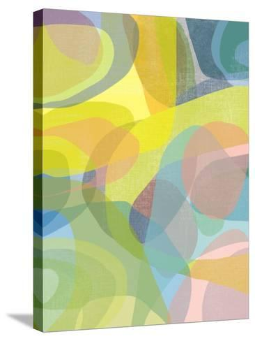 Layered Earth Three-Jan Weiss-Stretched Canvas Print