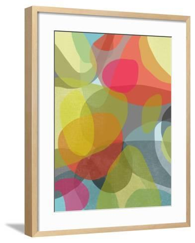 Layered Earth Four-Jan Weiss-Framed Art Print