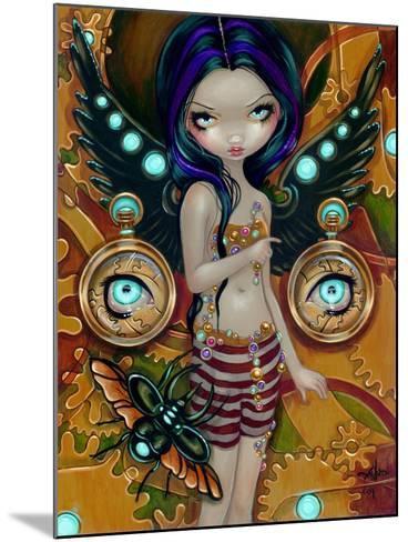 Mechanical Angel III-Jasmine Becket-Griffith-Mounted Art Print