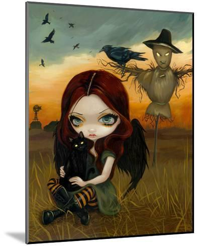 The Scarecrow-Jasmine Becket-Griffith-Mounted Art Print