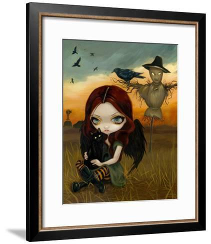 The Scarecrow-Jasmine Becket-Griffith-Framed Art Print